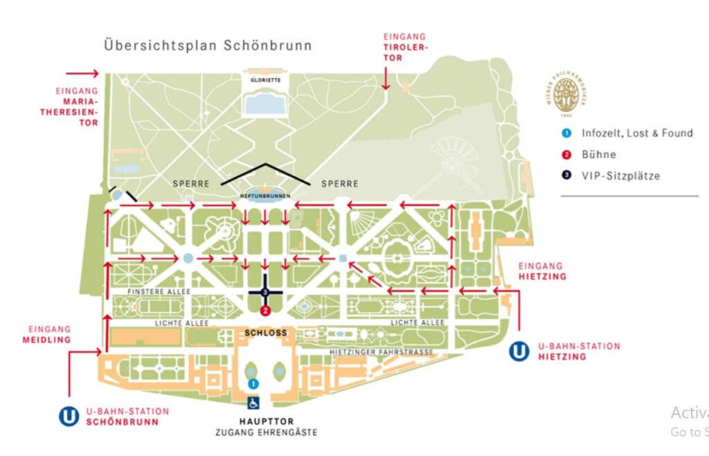 Sommer Nacht Konzert map
