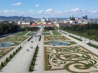belvedere palace garden