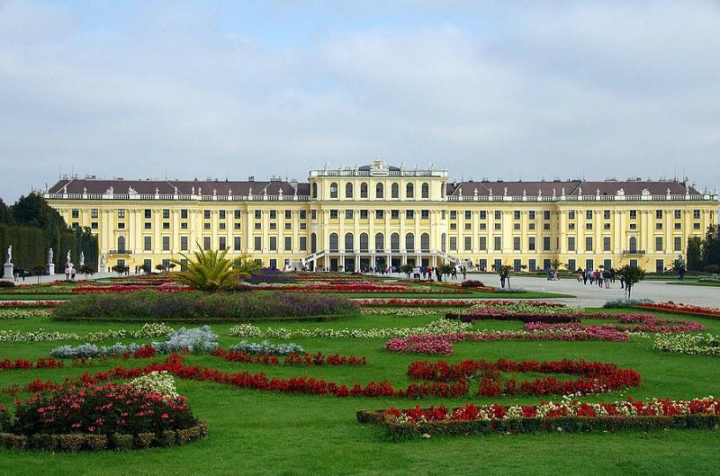 Sschonbrunn palace Vienna