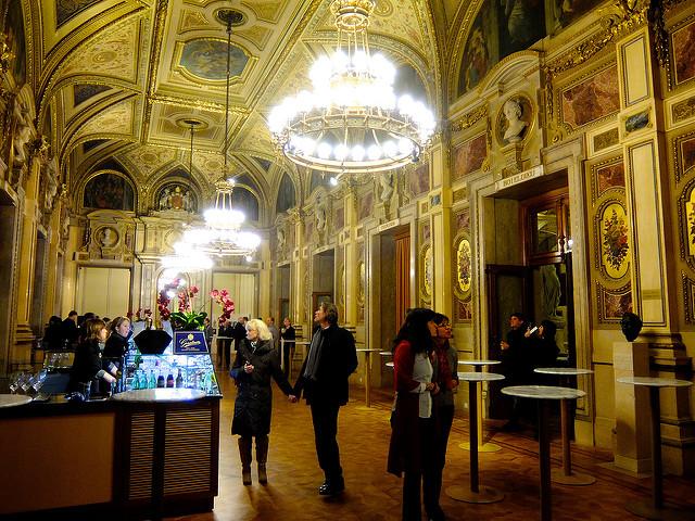 Inside of Vienna Opera House