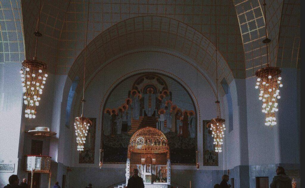 Vienna Church Am Steinhof - St Leopold