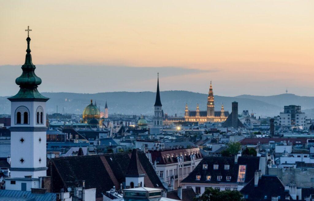 Vienna sky