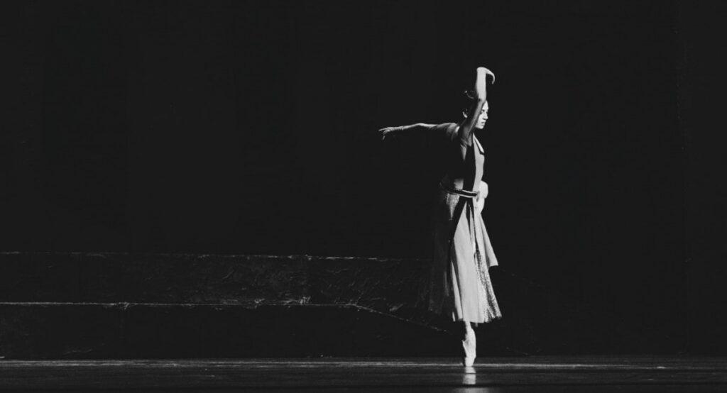 Dance timing girl