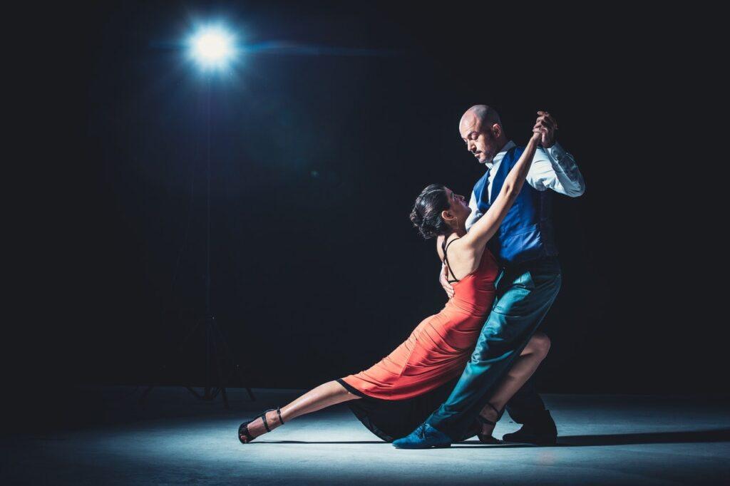 Dance costume couple