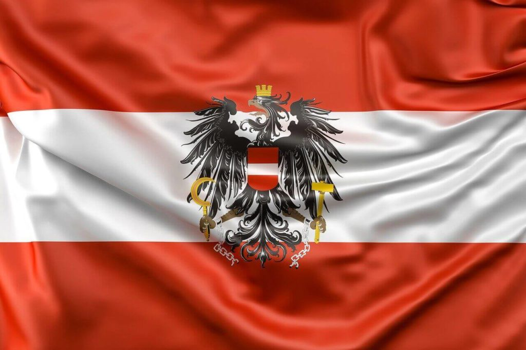 About Austria flag