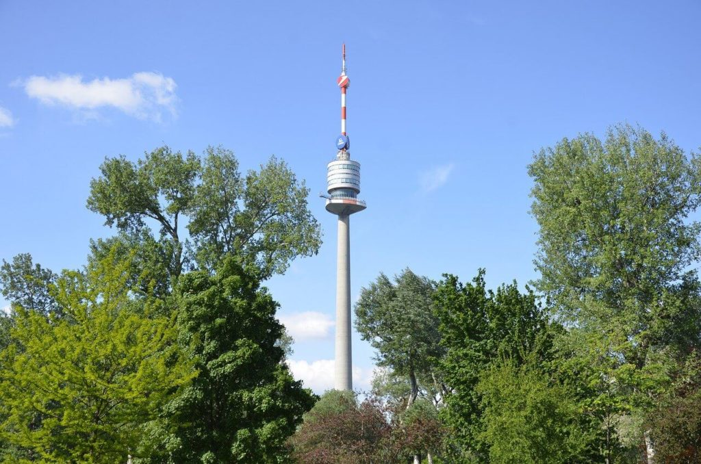 Danube Tower in Vienna