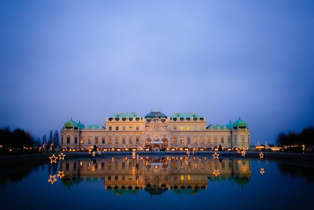 Vienna top attractions Belvedere palace