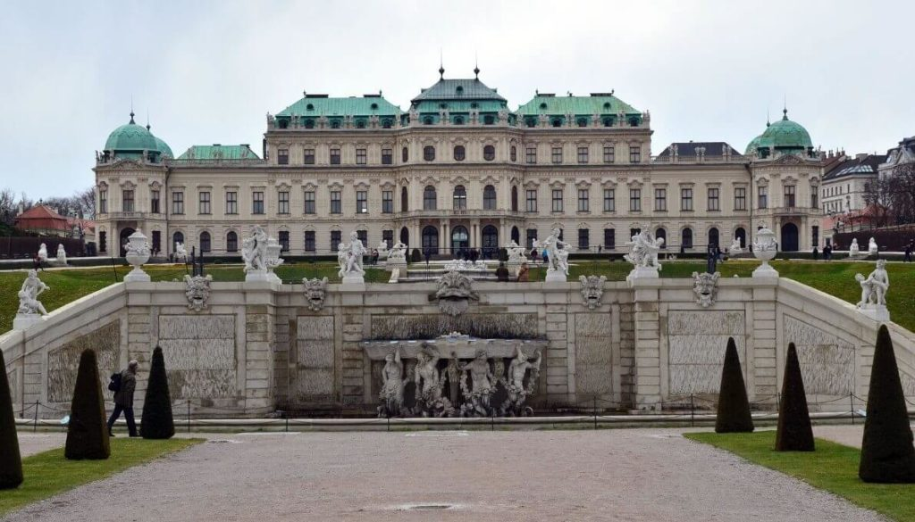 Schonbrunn outside look