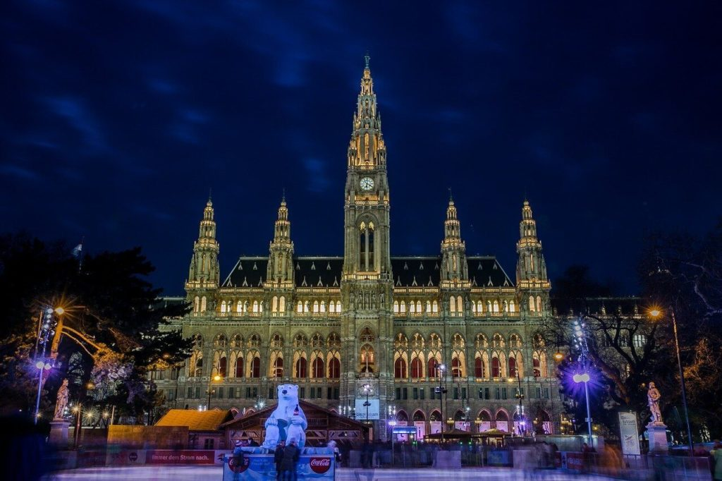 The City Hall in Vienna